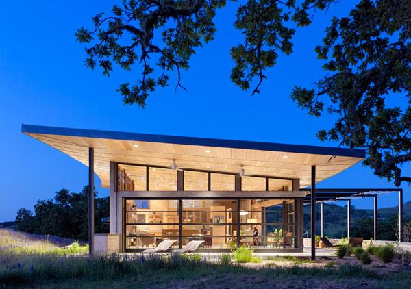Clean Green California House Design
