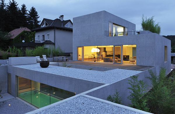 Multi Level House Design In Ljubljana Slovenia Puzzles With Its