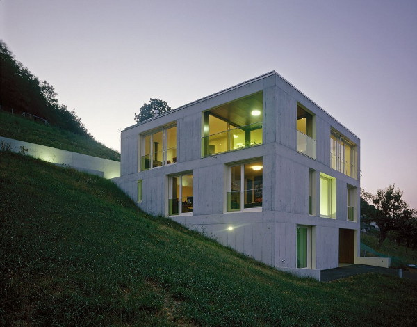 Concrete Home Design In Switzerland