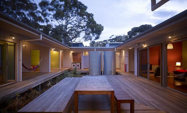 Courtyard House Plans – Idyllic Interior Courtyard