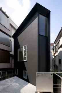 Japanese Narrow House Design