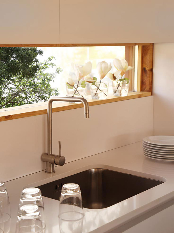 prefab kitchen countertops electrolux appliances laminated pinewood house by nordicasa design ...