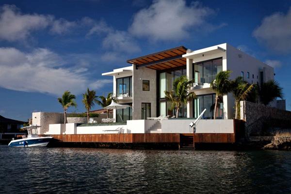 Luxury Coastal House Plans On Florida Island Paradise
