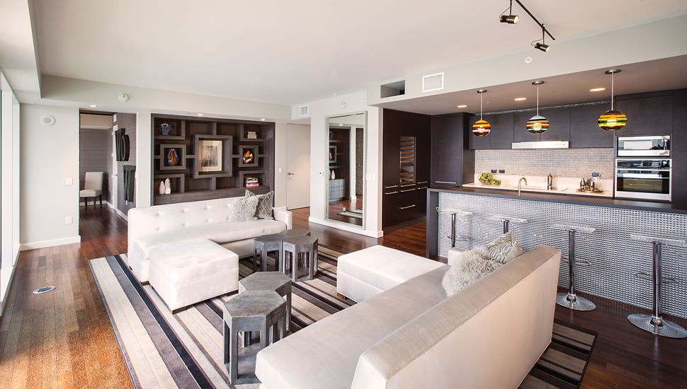 Luxury Hollywood Penthouse With Chic Game Room Replacing