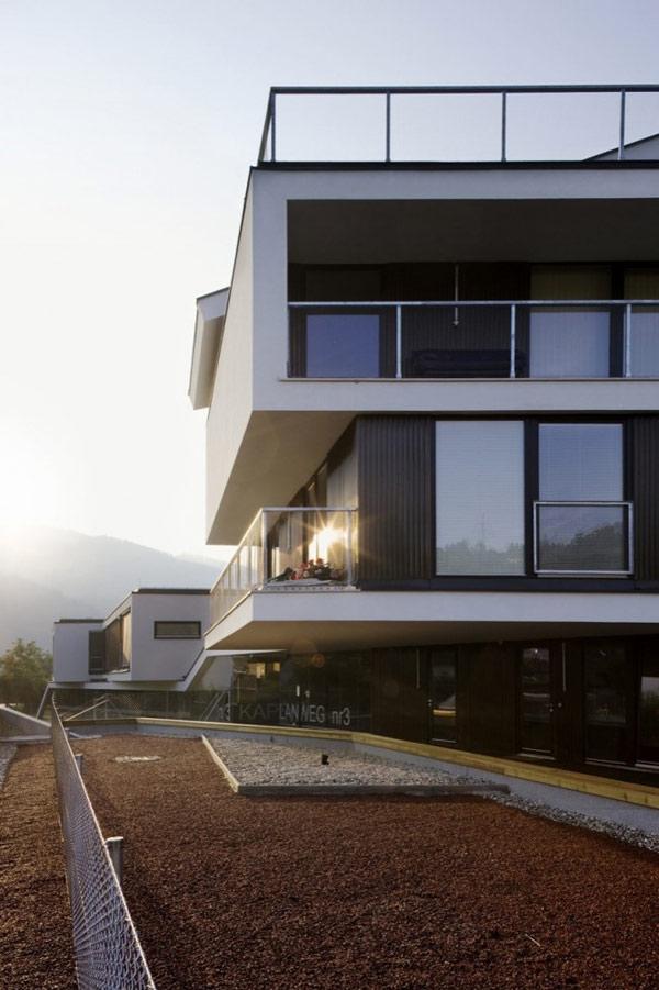 Modern Multi Family Architecture In Austria