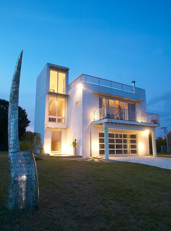 Modern Studio House Plan in Rhode Island by Native Architect