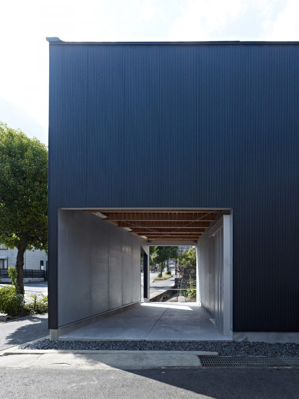 Open Air Homes  Modern architecture incorporating negative space