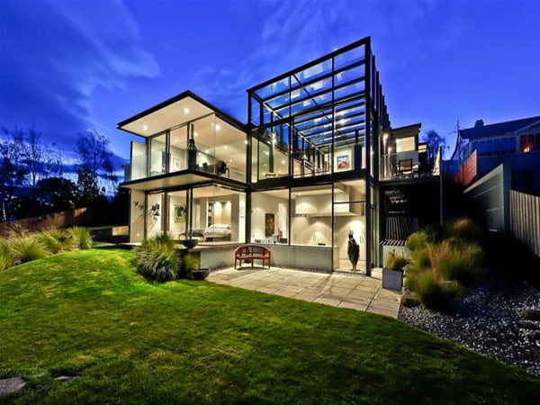 Panorama House Design Glass Walls & Modern Interiors