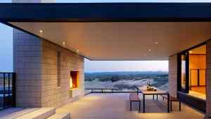 Passively Cooled House With Outdoor Living Spaces