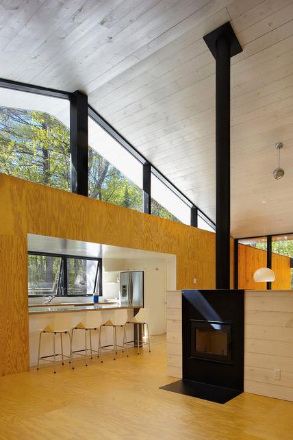 Prefab Cottage Homes  Modern Modest Lake House