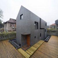 Modern Brick Home Design in China brings an innovative ...