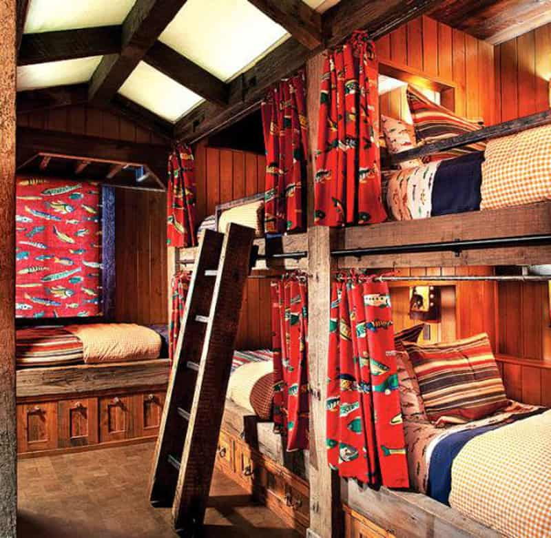 Animal Print Wallpaper For Bedrooms Stone Mountain Chalet With Elevator And Ski Room