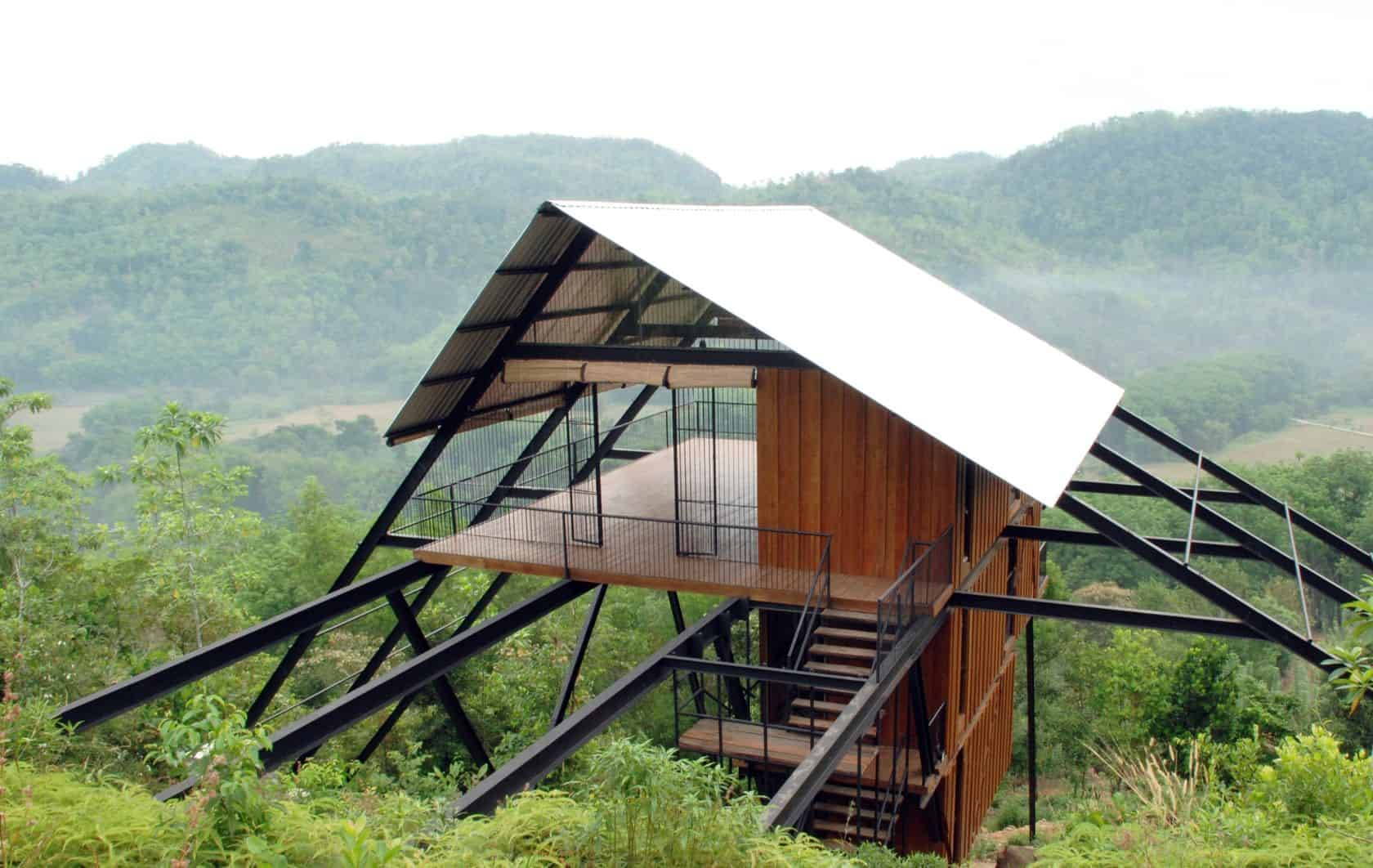 Tall Bungalow The Ark A Three Bedroom Eco Retreat In Sri