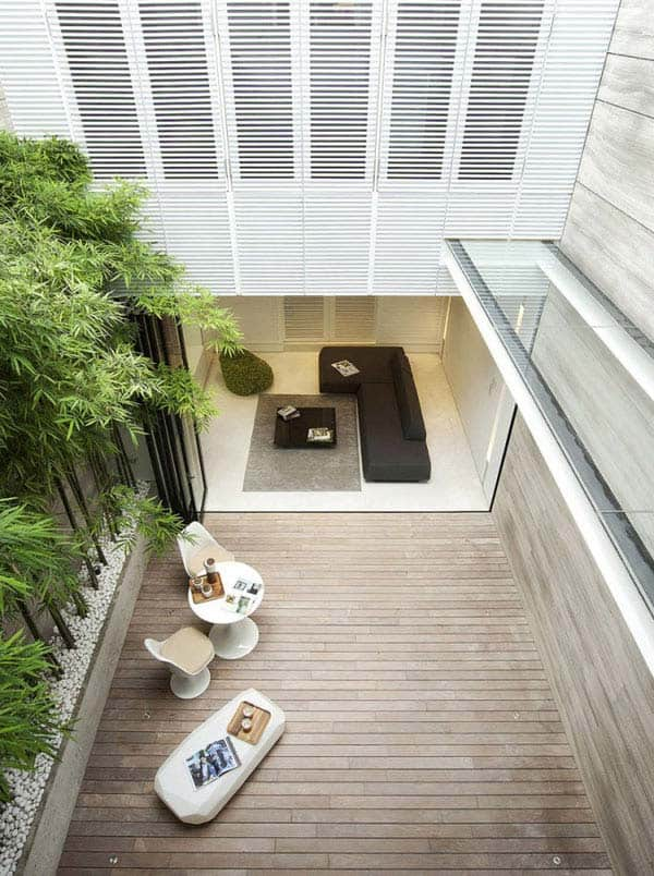 Terrace Home Goes Modern Singapore Style