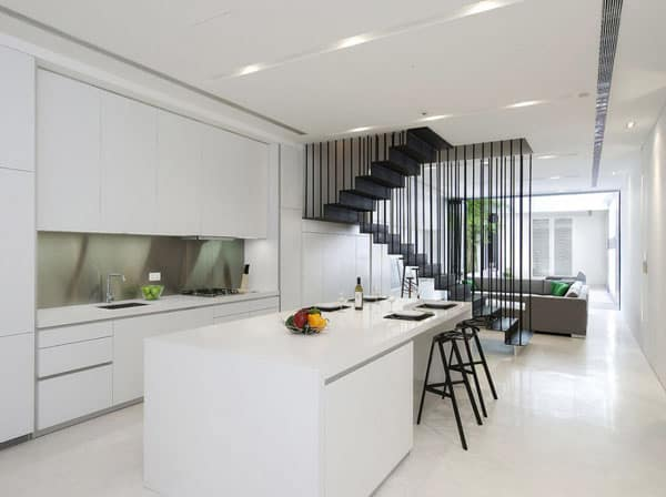 Stunning Terrace House Kitchen Design Ideas Gallery House