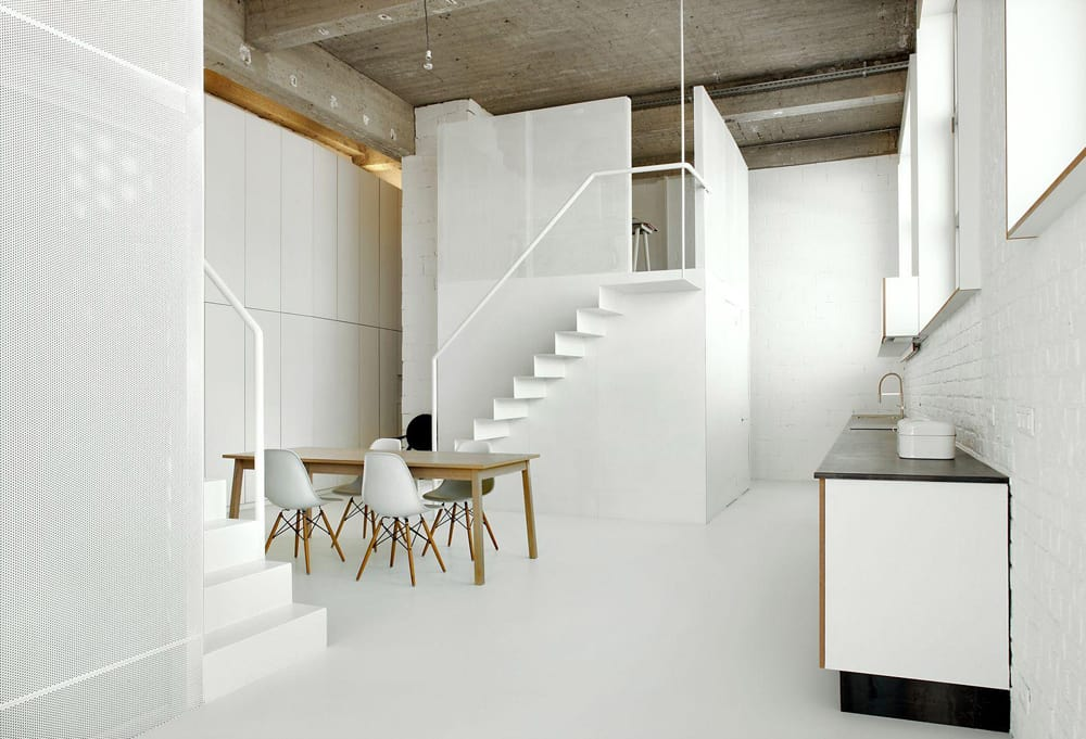 Two Small Lofts Inside a Loft