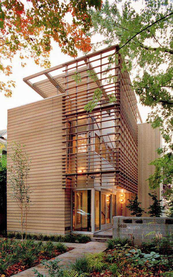 Modern Urban House : modern, urban, house, Urban, Design, Dreams, Narrow