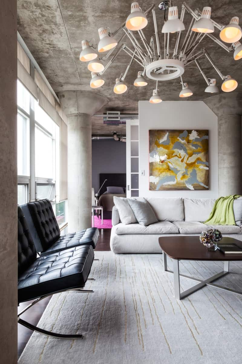 Small Loft Designed For Big Impact