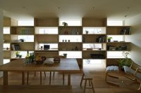 Window Shelving Idea: Save Space and Get Privacy