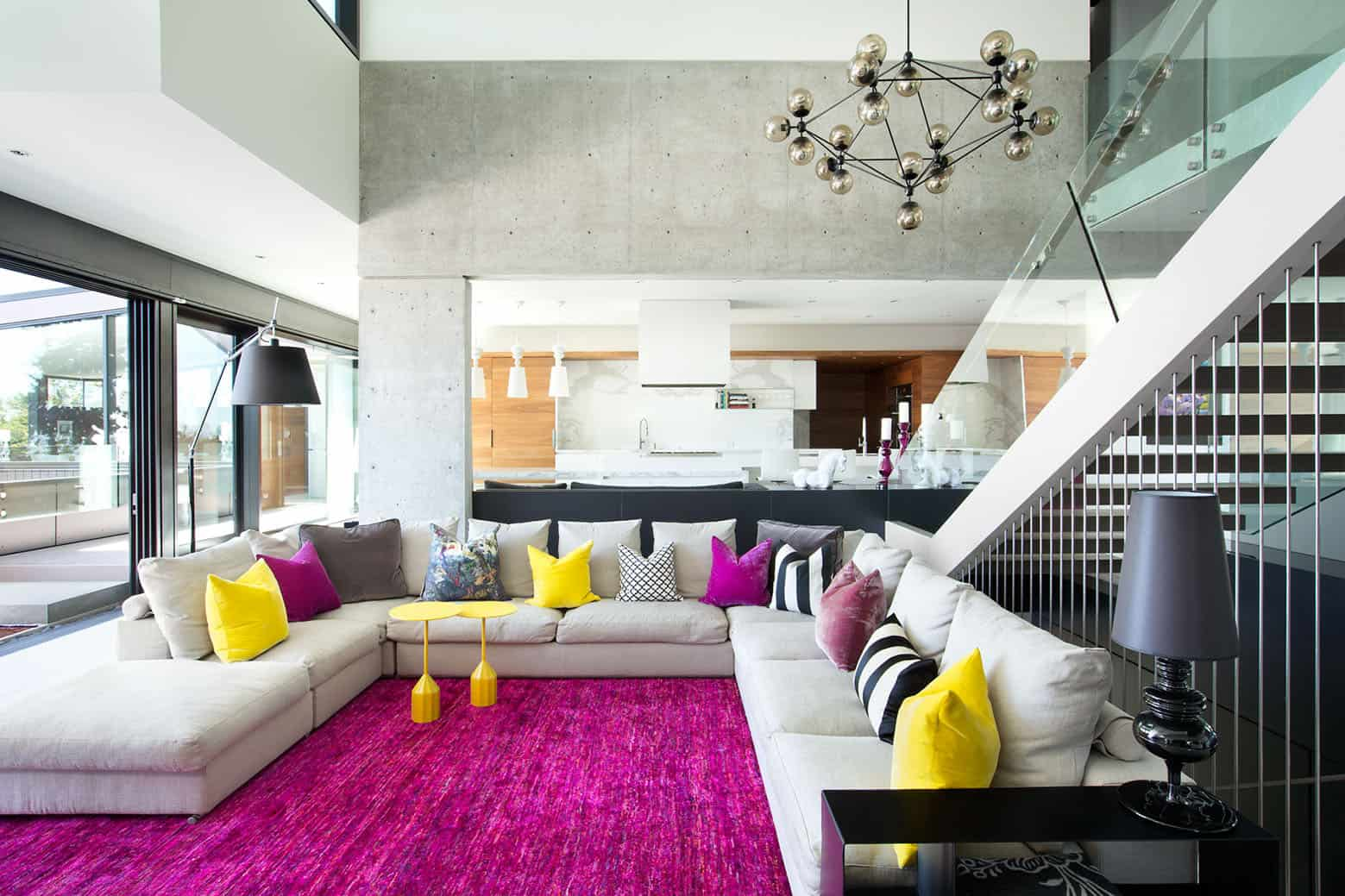 If You Love Colors Youll Love This Bright Living Room