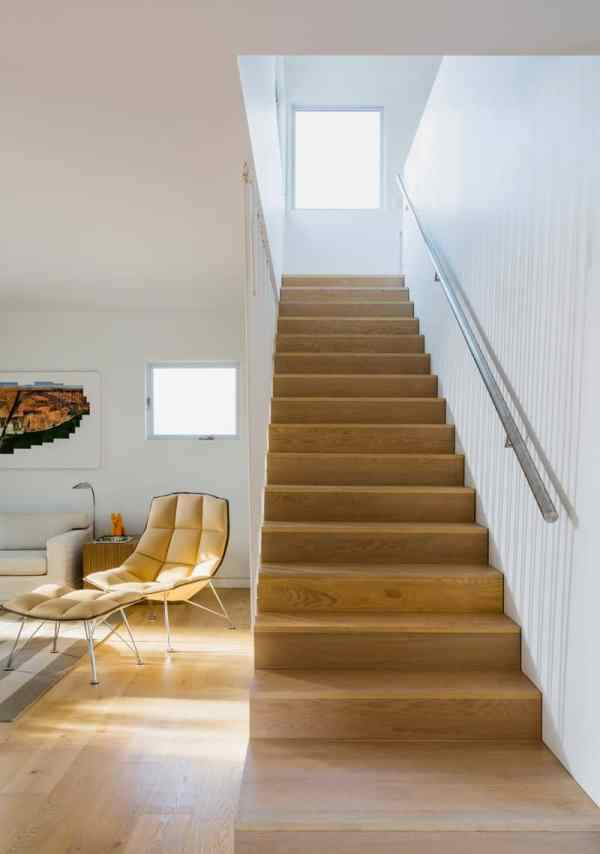 Stairs With Rope Railing