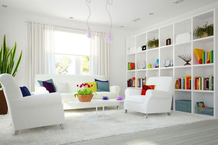 Interior Design: Interior Design Ideas With Color. Widescreen Interior Design Ideas With Color For Computer Full Hd Pics White Room The Color Of Light