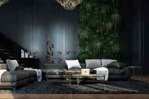 interior apartment wall historic making showcased paris interiors plants extends storey