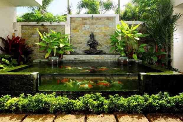 Koi Fish Garden Pond Design Ideas