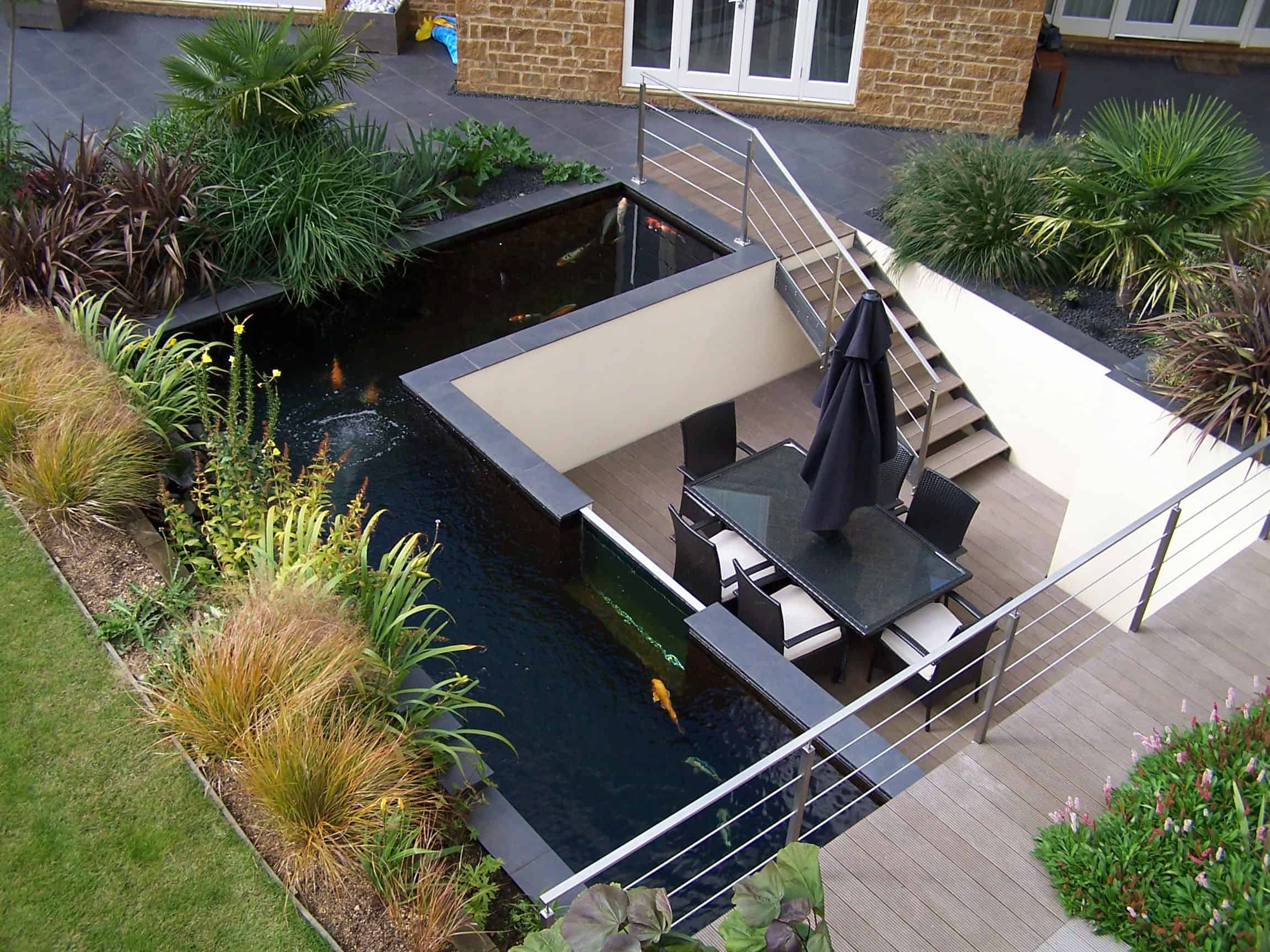 35 sublime koi pond designs and water