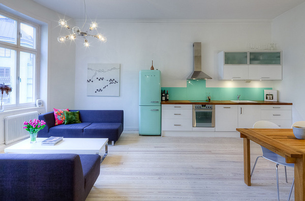 View In Gallery Open Concept Apartment Design Stockholm 4 Jpg