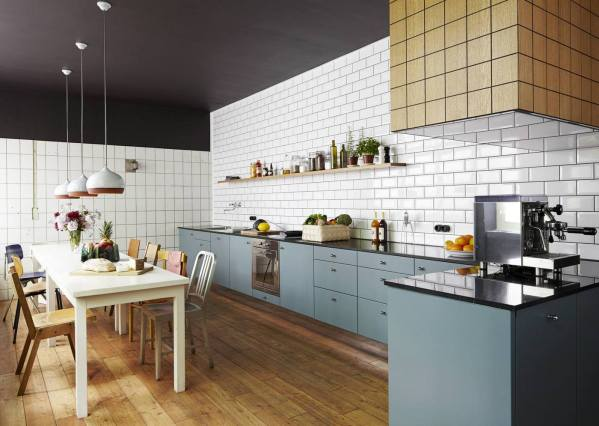 urban design house kitchen White Subway Tile Kitchen Designs are Incredibly Universal: Urban vs. Country