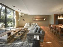 Living Room Transforms Seamlessly Indoor