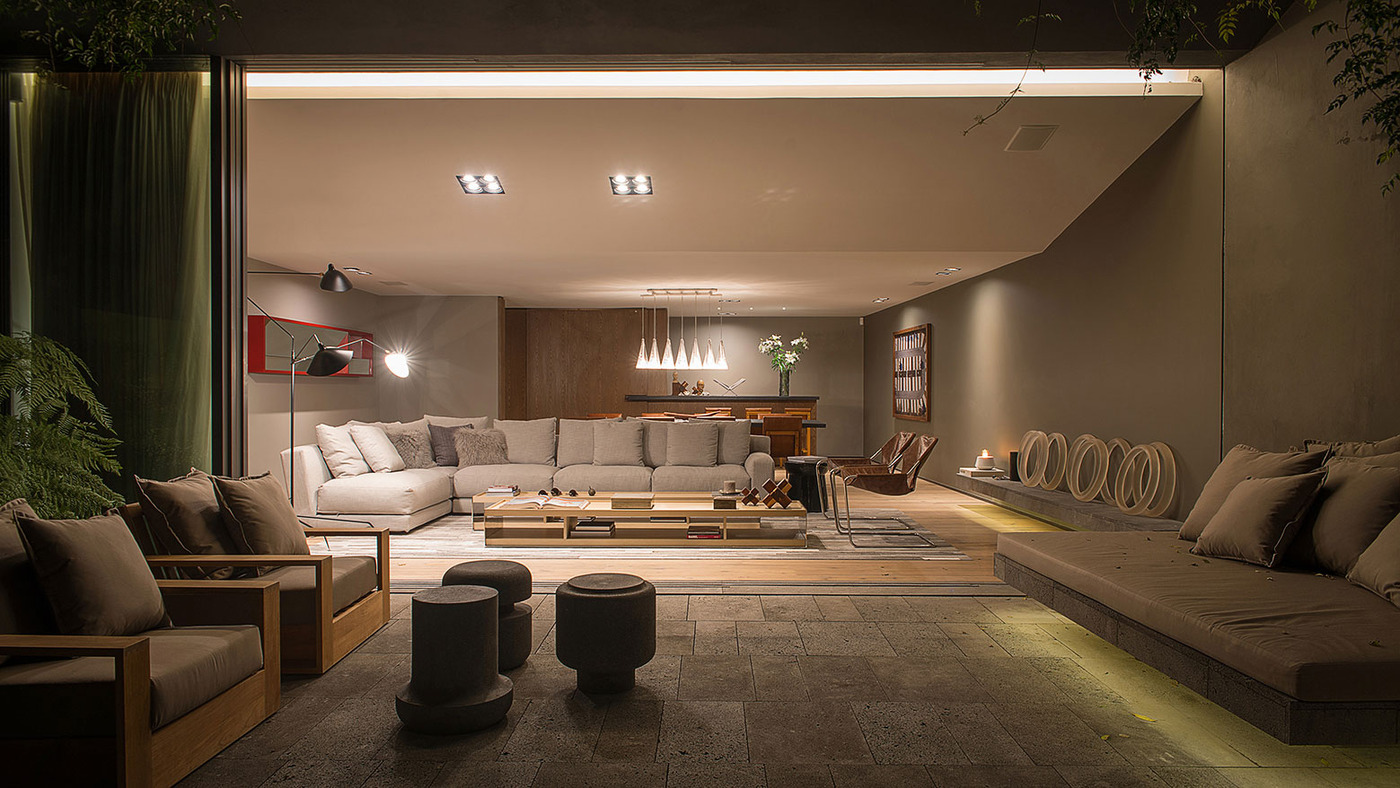 This Living Room Transforms Seamlessly From The Indoor To