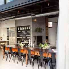 Long Kitchen Table Island Bar Height Industrial Style Design Ideas (marvelous Images)