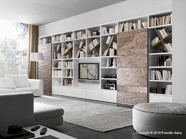 small living room cabinet modern wall mirrors storage solutions ideas pari dispari units by presotto 5 jpg