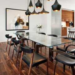 Kitchen Island Chairs With Backs Industrial Kitchens Open Plan / Living Area - Unified By Vok Design Group