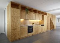 Plywood Built-in Furniture by Big Game