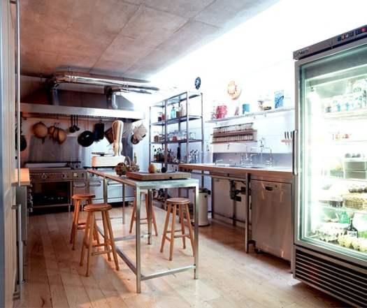 Restaurant Style Kitchen Decor Design By Gad Architecture