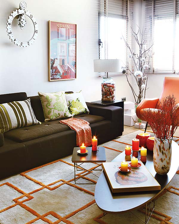 Tangerine Tango In Home Decor Pantone Color Of The Year