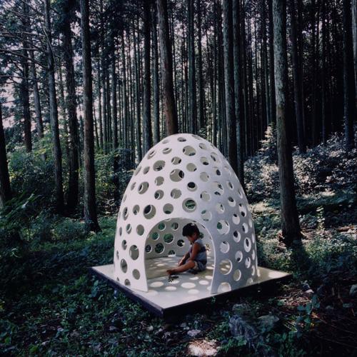 Concrete Shell Structure Eggshell a concrete pod for all