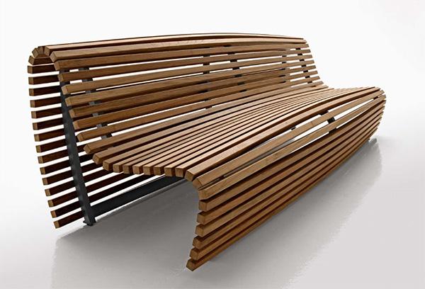 modern deck bench design by michael