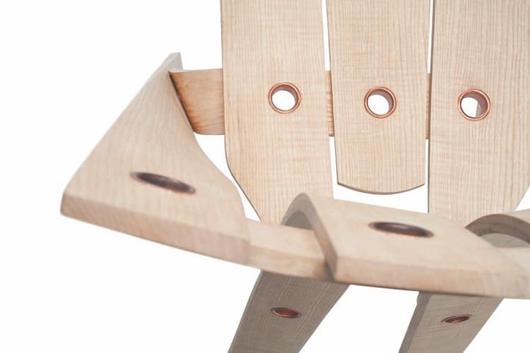 bent wood dining chairs best inexpensive ergonomic office steam ash furniture assembled with rivets - by david colwell