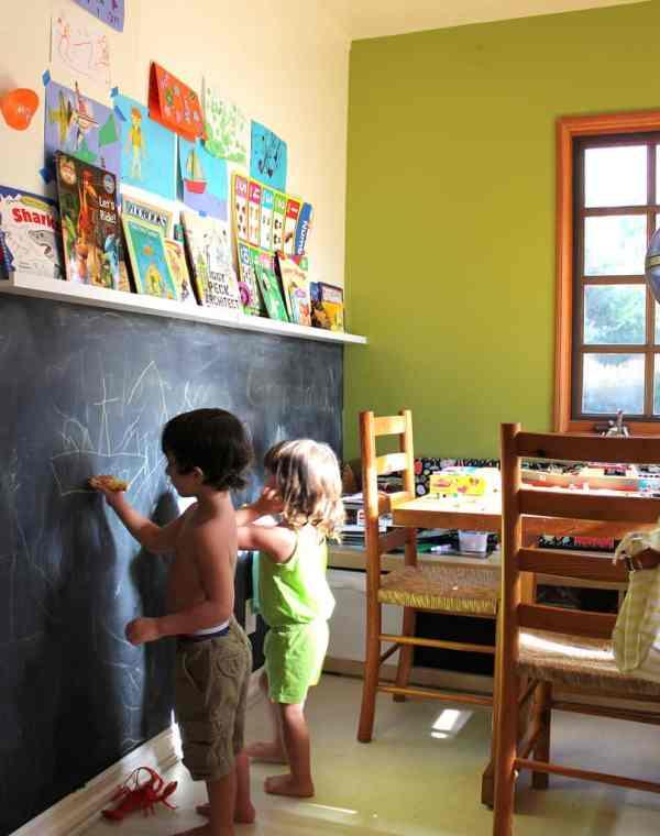 Kids Chalkboard Wall Ideas