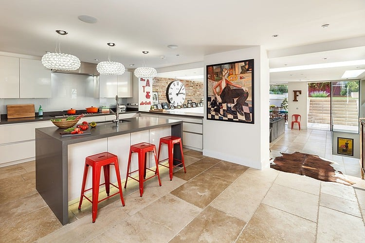 red kitchen chairs fingerhut 11 ways can create dramatic decor view in gallery drama trendy ideas 3