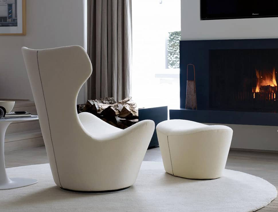 oversized leather chair and ottoman sleeper a half 10 iconic lounge chairs with footstools