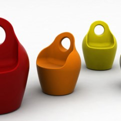 Modern Plastic Chair Chairs With Drink Holders Outdoor By Domitalia