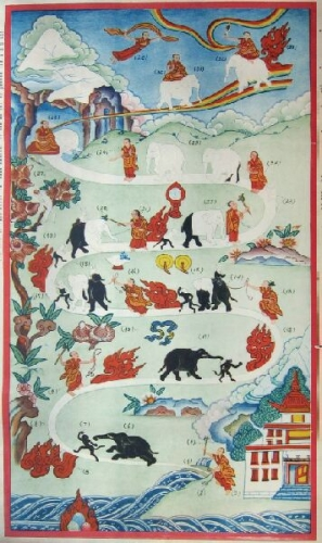 Buddha Buzz: The Monk, The Elephant, and the Monkey  Tricycle: The Buddhist Review