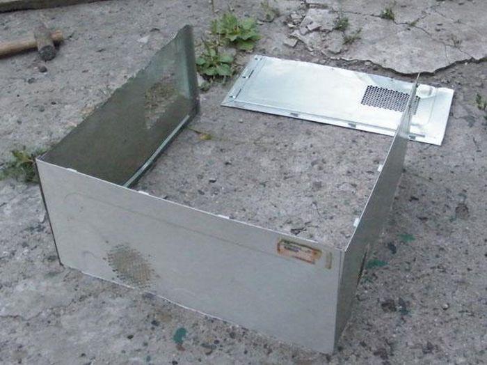 Bilgisayar kapağından mangal (10 Forograf)