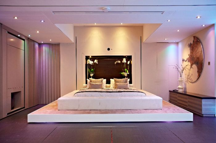 İnanılmaz Yatak Odası Tasarımı (6 Fotograf)