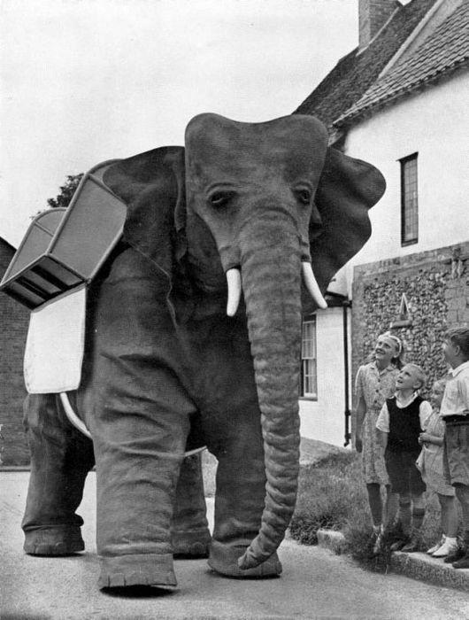 1950 Yapımı Robot Fil (8 Fotograf)